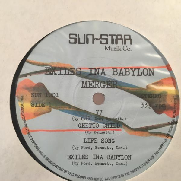 ★Merger/Exiles Ina Babylon★UK ROOTS名盤!_画像2