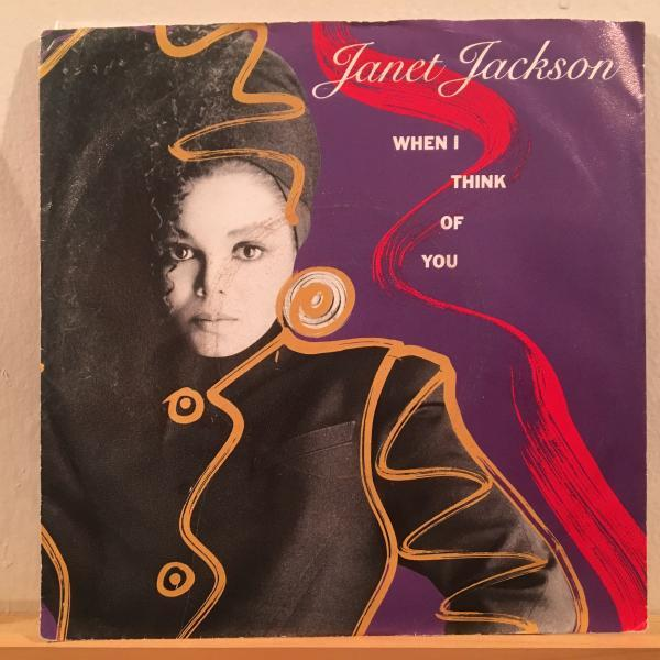 ☆Janet Jackson/When I Think Of You☆R&B NEW JACK SWING名曲!7inch 45_画像1