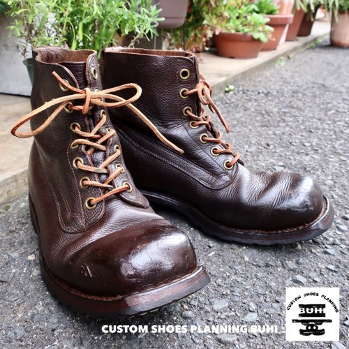 95925495e2729 bhi shoes military boots / Sweden army /27.5cm Vintage / old shoes ...