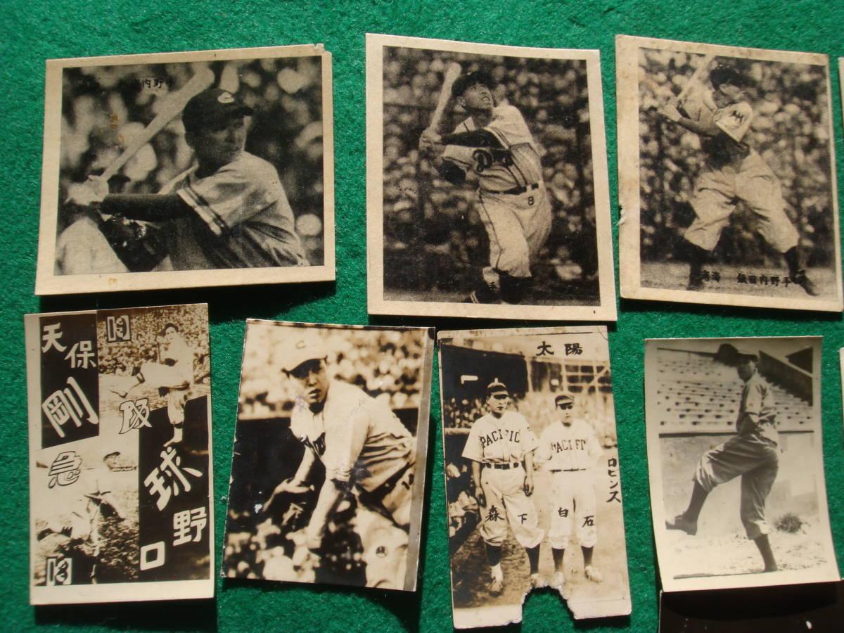 野球写真プロマイド 32枚 スタルヒン常見検索 ロビンズ南海太陽フライヤーズ金星スターズ広島東急ドラゴンズの時代_画像3