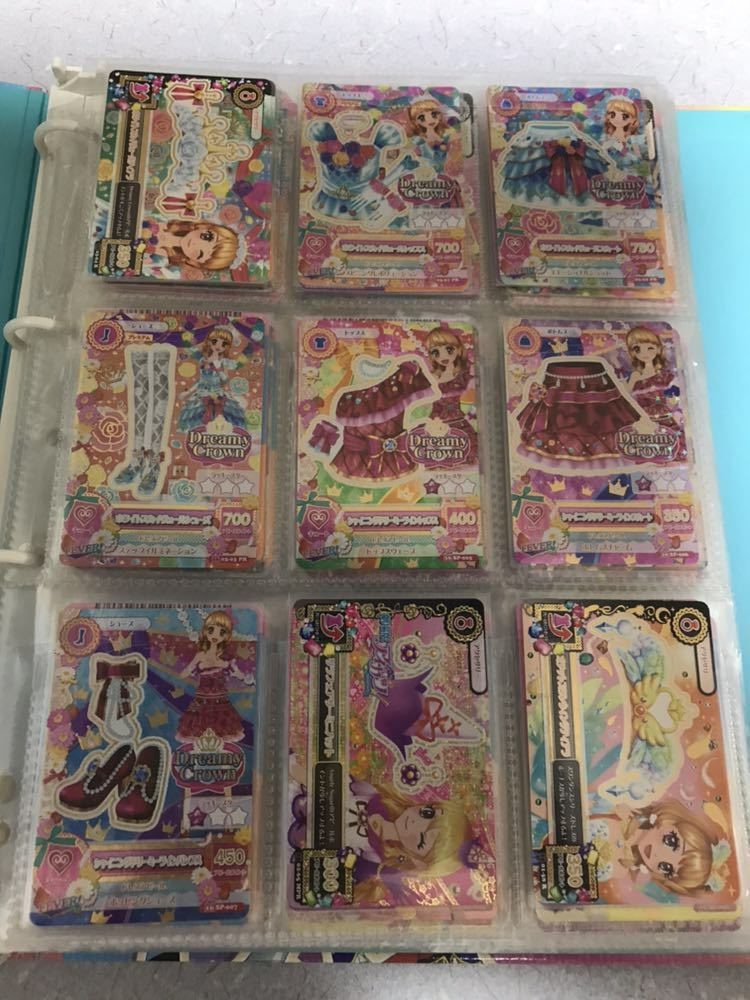 アイカツ! 旧アイカツ!カード 約600枚 バインダー _画像2