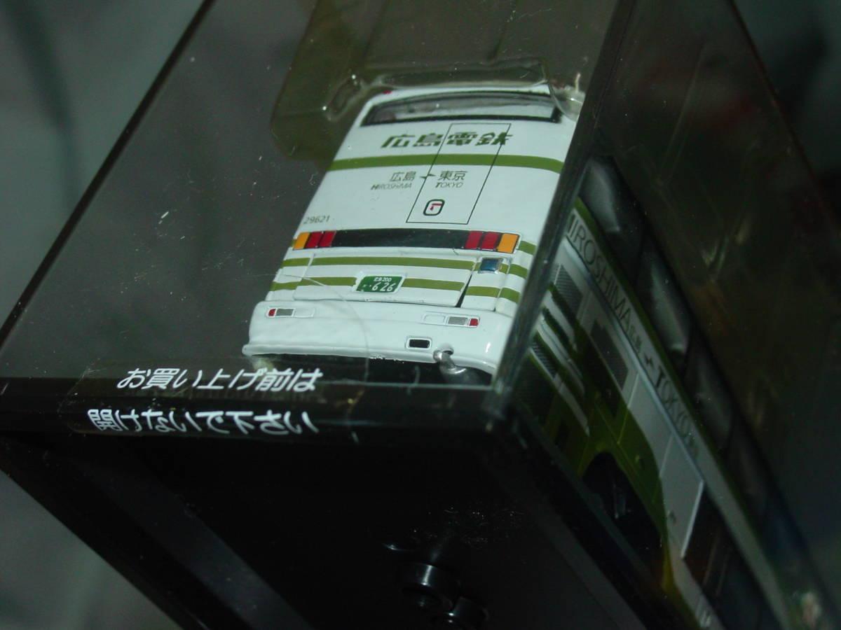 クラブ バスラマ 1/76 三菱ふそう エアロキング 広島電鉄 JB4003 CLUB BUSRAMA AERO KING 広電 夜行高速バス バス BUS ダイキャスト_画像7