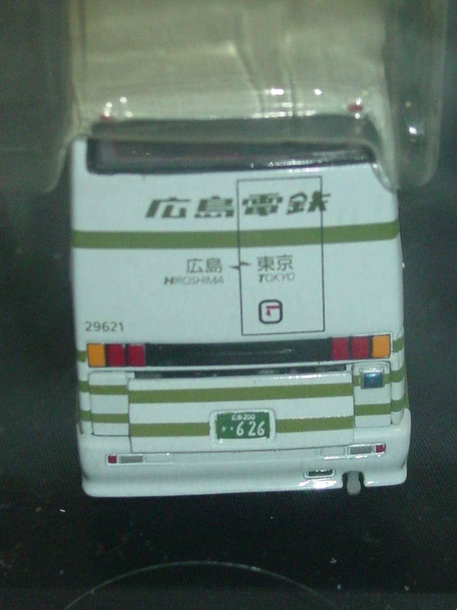 クラブ バスラマ 1/76 三菱ふそう エアロキング 広島電鉄 JB4003 CLUB BUSRAMA AERO KING 広電 夜行高速バス バス BUS ダイキャスト_画像4