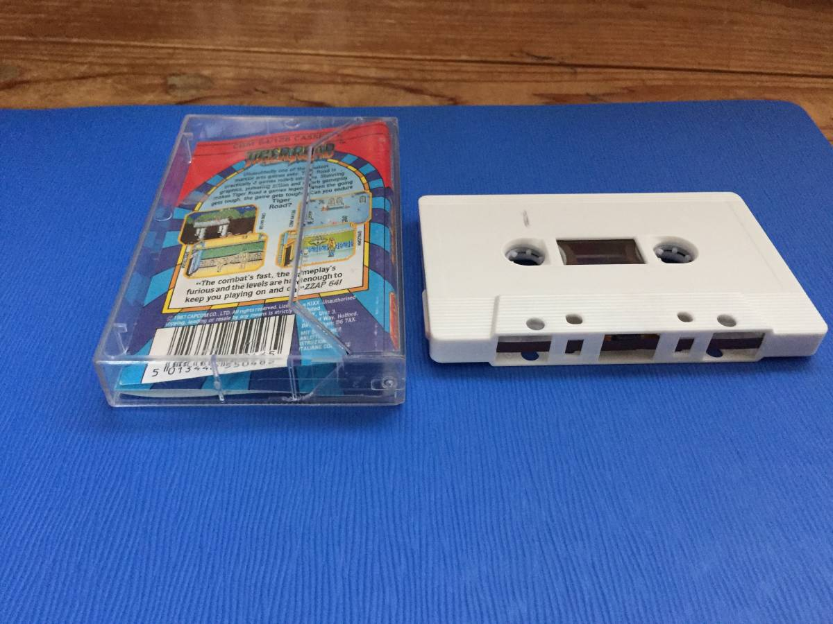 コモドール64 虎への道 カプコン Tiger Road カセットテープ アクション レトロゲーム_画像3