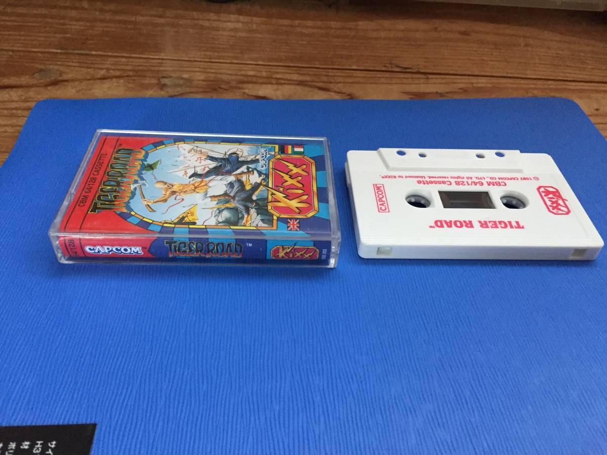 コモドール64 虎への道 カプコン Tiger Road カセットテープ アクション レトロゲーム_画像4