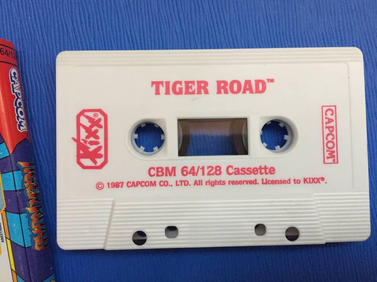 コモドール64 虎への道 カプコン Tiger Road カセットテープ アクション レトロゲーム_画像6