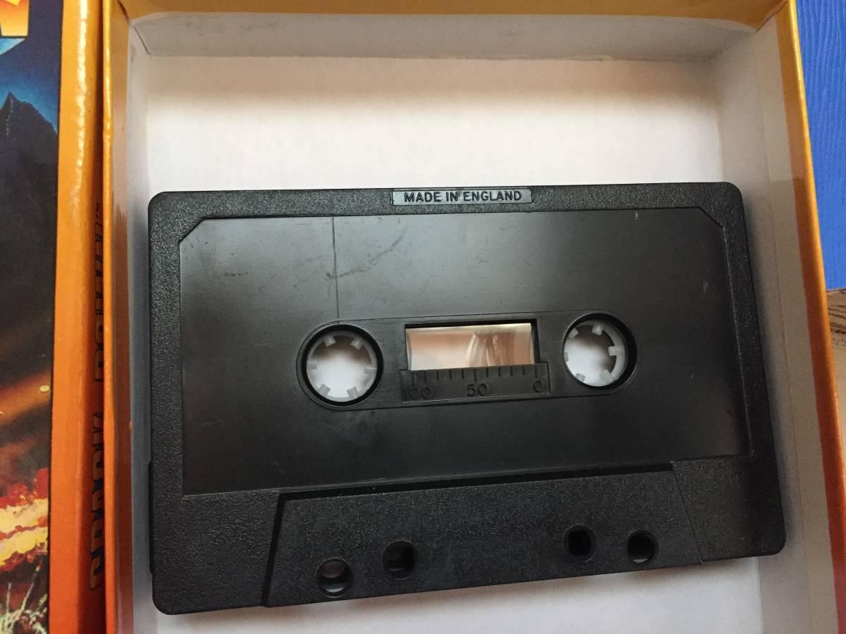 コモドール クラックダウン Crack Down セガ カセットテープ 箱説付き レトロゲーム アクション PCゲーム_画像3