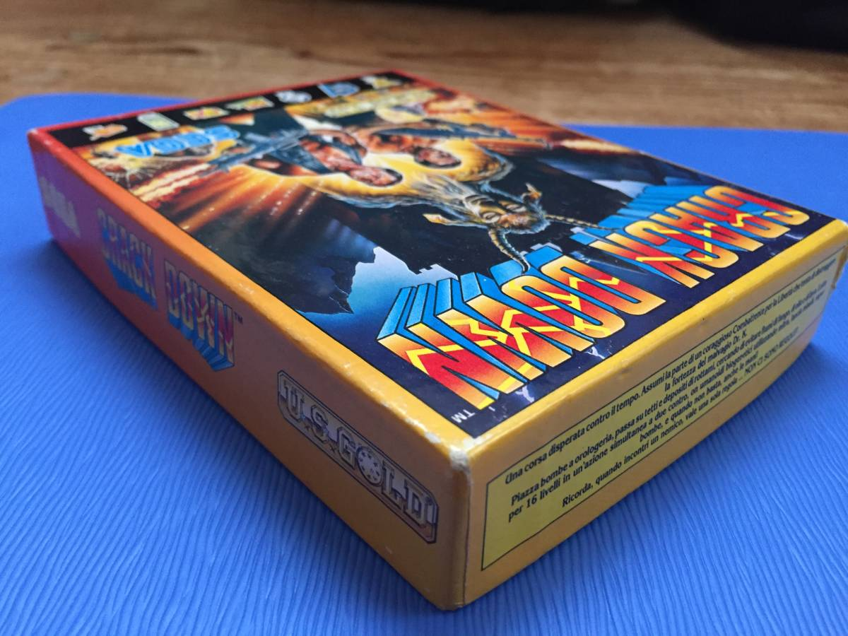 コモドール クラックダウン Crack Down セガ カセットテープ 箱説付き レトロゲーム アクション PCゲーム_画像9