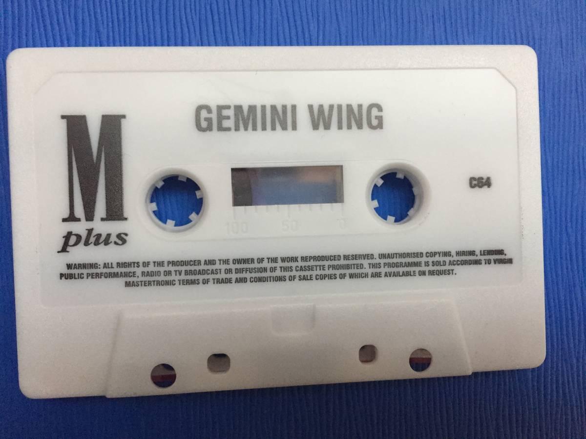 コモドール 64/128 ジェミニウイング Gemini Wing テクモ カセットテープ ゲームソフト 1987年頃のレトロゲーム シューティング_画像2