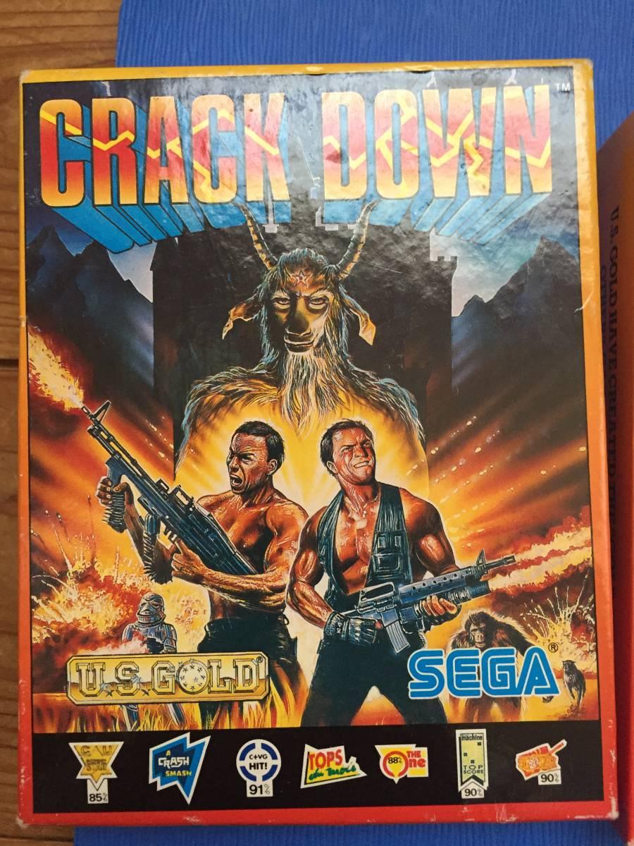 コモドール クラックダウン Crack Down セガ カセットテープ 箱説付き レトロゲーム アクション PCゲーム_画像5