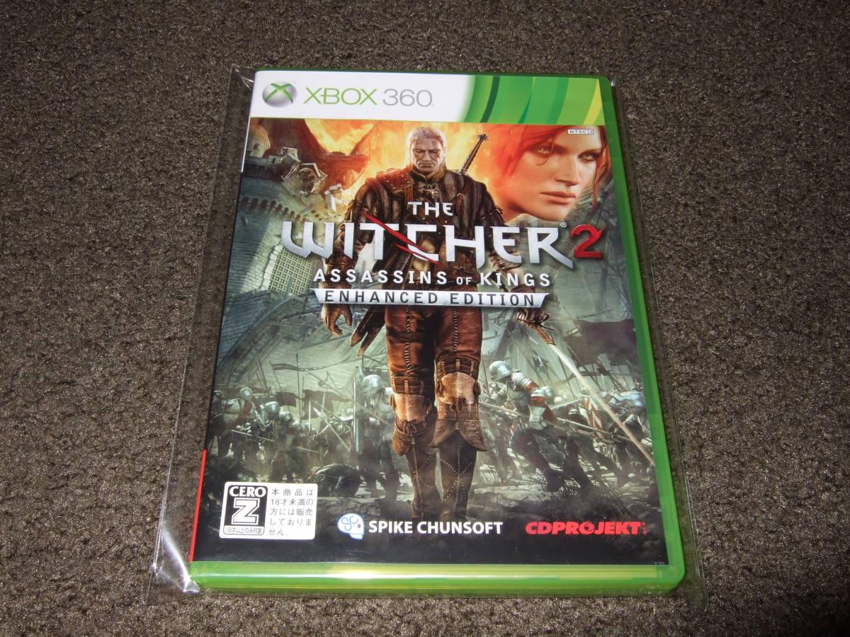 美品 XBOX 360 ソフト Witcher 2 ウィッチャー 2XboxOne でも出来ます。