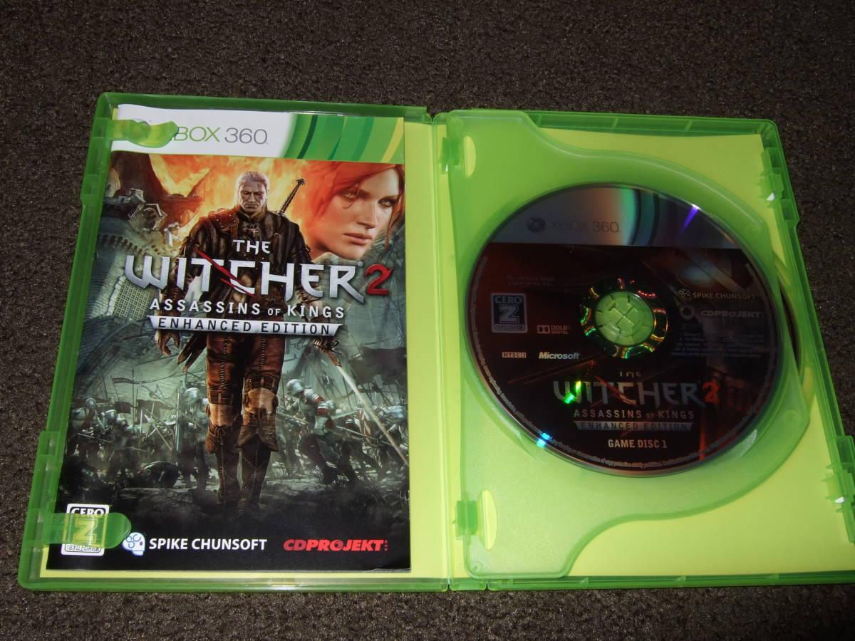 美品 XBOX 360 ソフト Witcher 2 ウィッチャー 2XboxOne でも出来ます。_画像3