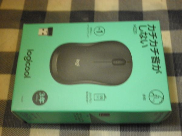 Logicool SILENT MOUSE M220GR GRAY WIRELESS NOISE 90% CUT SOUND TECH BATTERY POWERED 18 MONTHS COMPACT_画像1