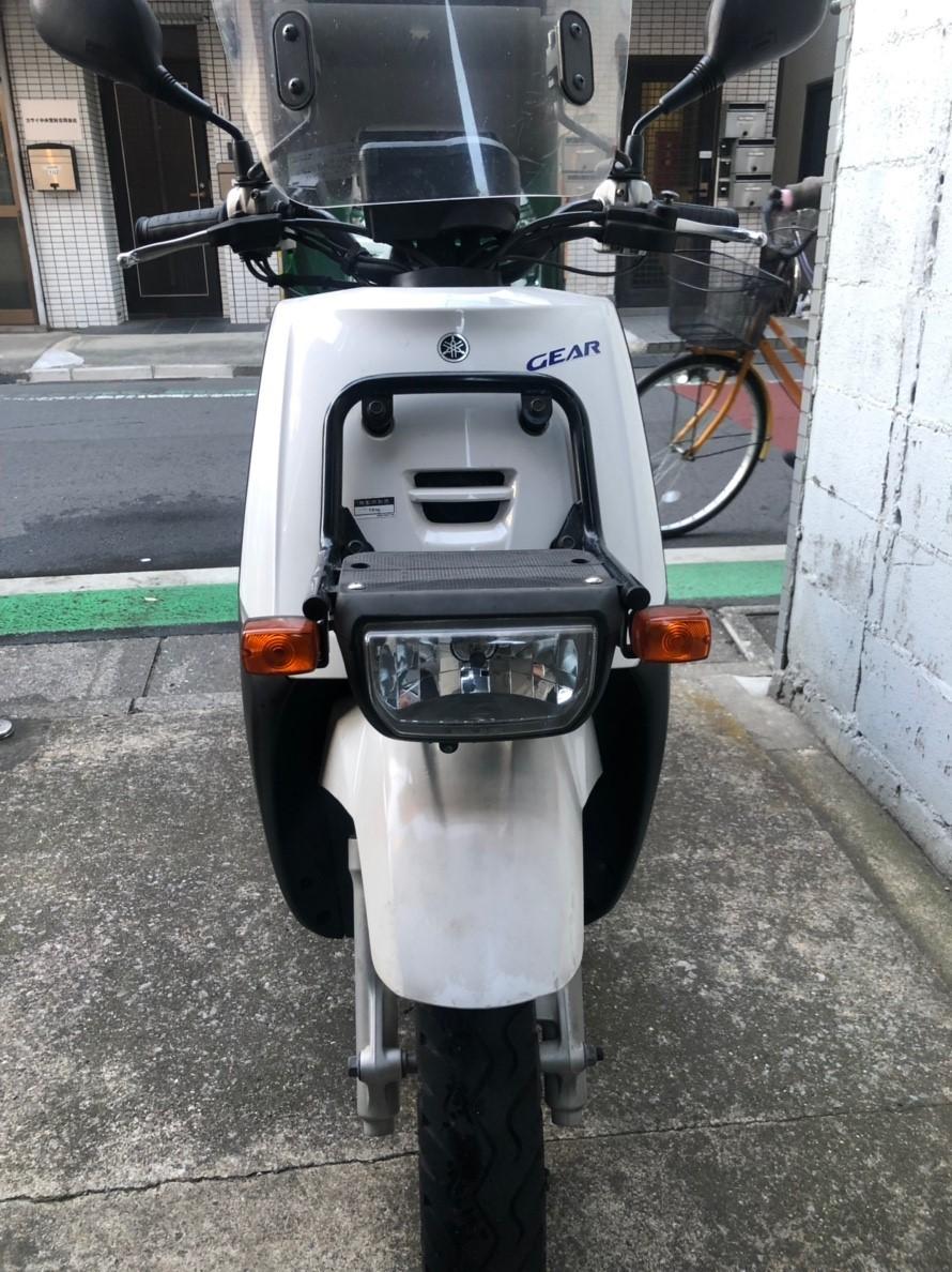 YAMAHA ギア GEAR 4スト、書付 売り切り 1円 グリップヒーター付き エンジン始動 引取希望_画像4