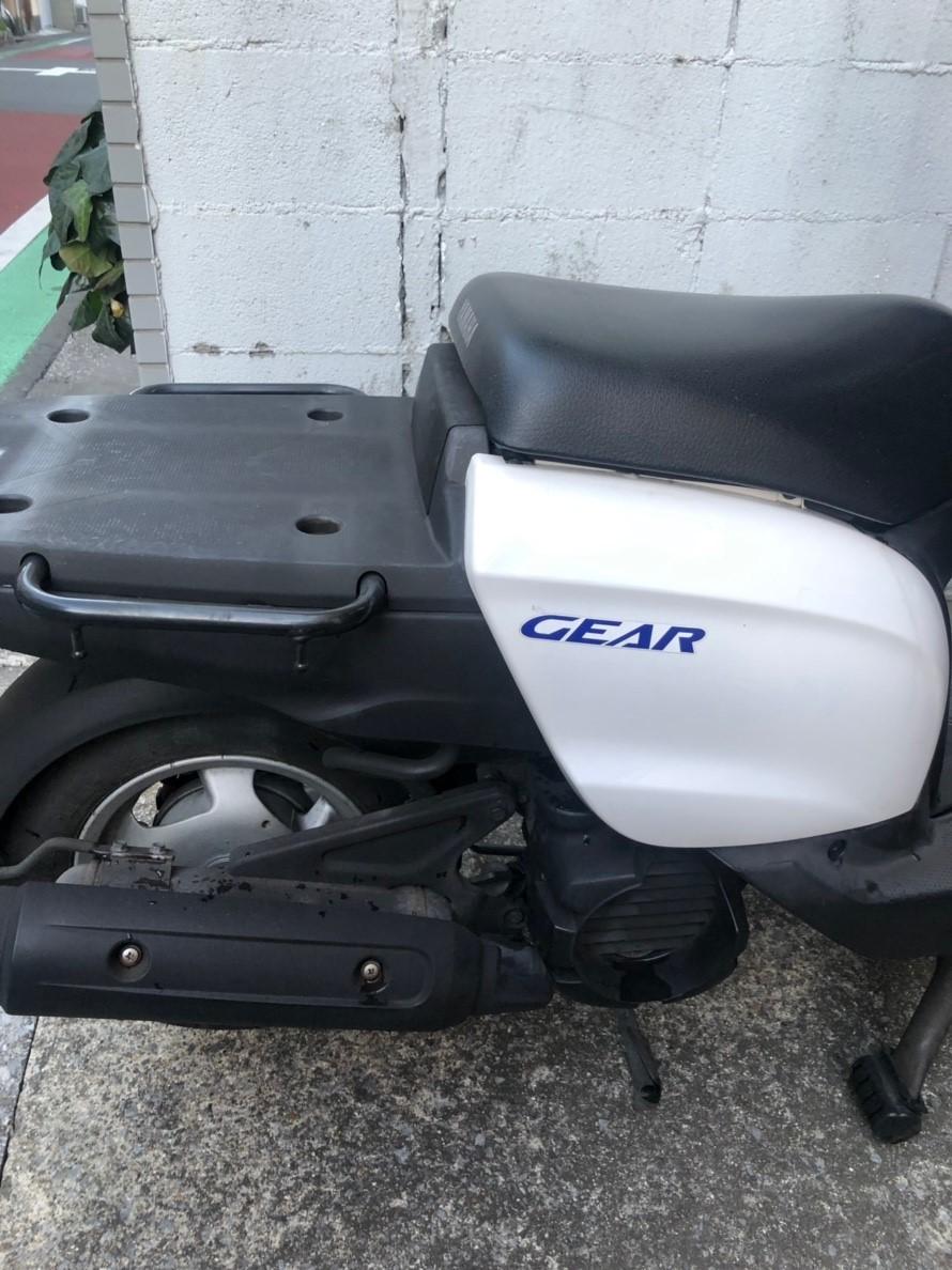 YAMAHA ギア GEAR 4スト、書付 売り切り 1円 グリップヒーター付き エンジン始動 引取希望_画像7
