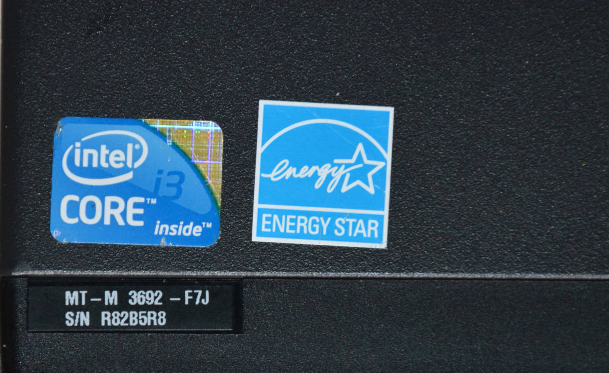 LENOVO ThinkCentre M90 3692-F7J Core i5-650 3.2GHz / PC3 8GB / SATA 750GB / Windows10 Pro_画像5