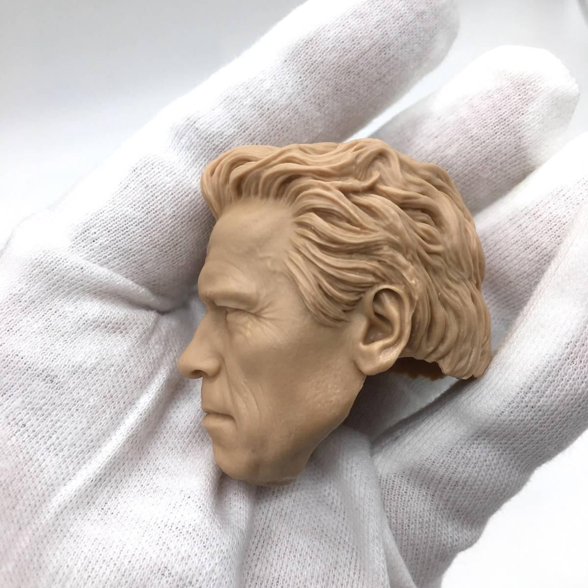 送料無料 1/6 DIY ヘッド 手作り 未塗装男性ヘッド アーノルド・シュワルツェネッガー -a 番号B35_画像4