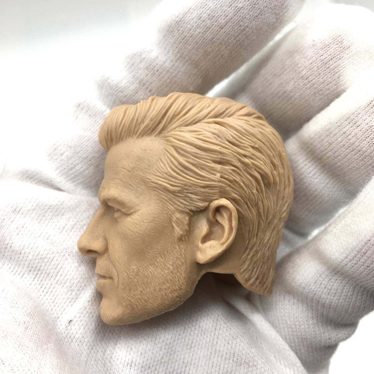 送料無料 1/6 DIY ヘッド 手作り 未塗装男性ヘッド デビッド・ベッカム 番号B32_画像8