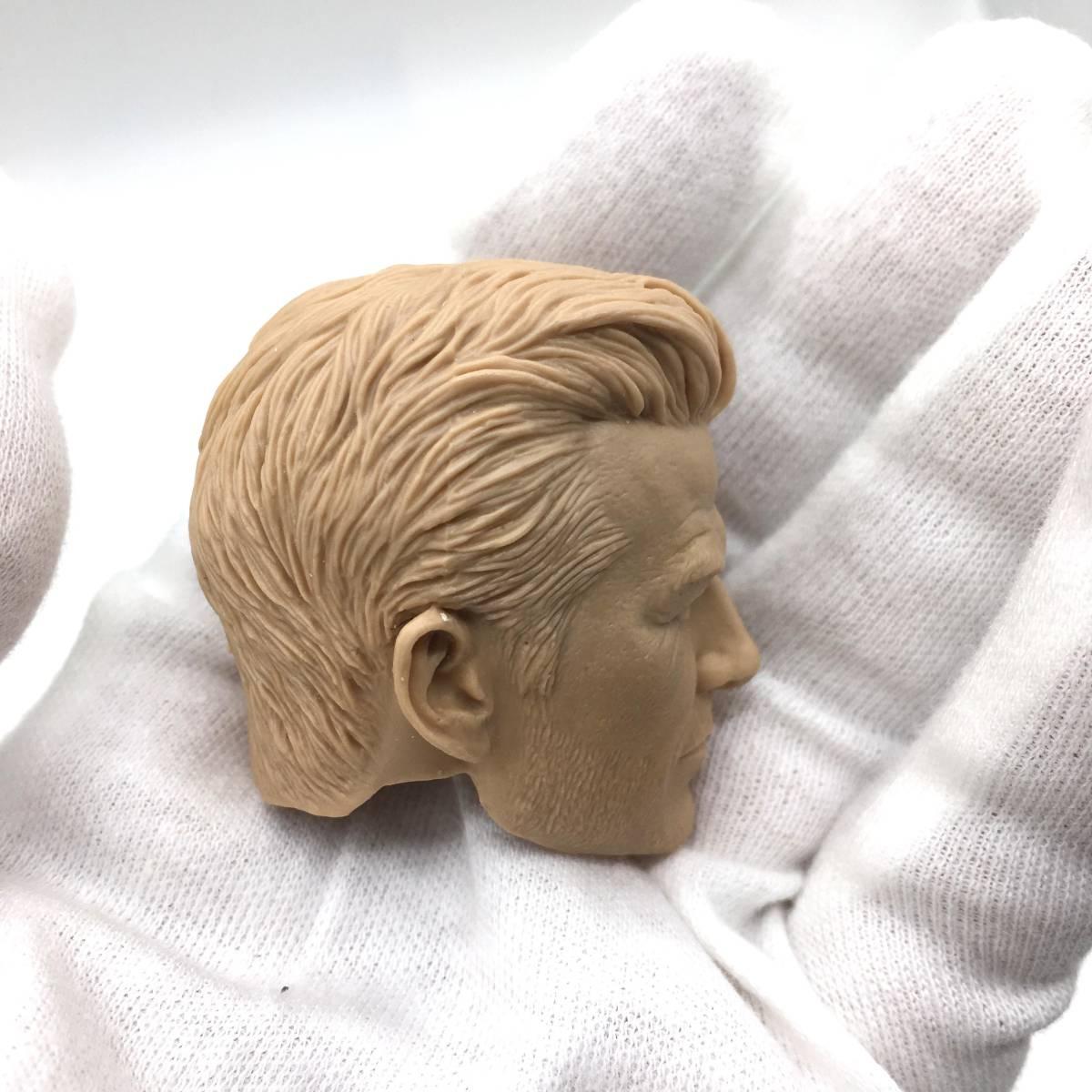 送料無料 1/6 DIY ヘッド 手作り 未塗装男性ヘッド デビッド・ベッカム 番号B32_画像7