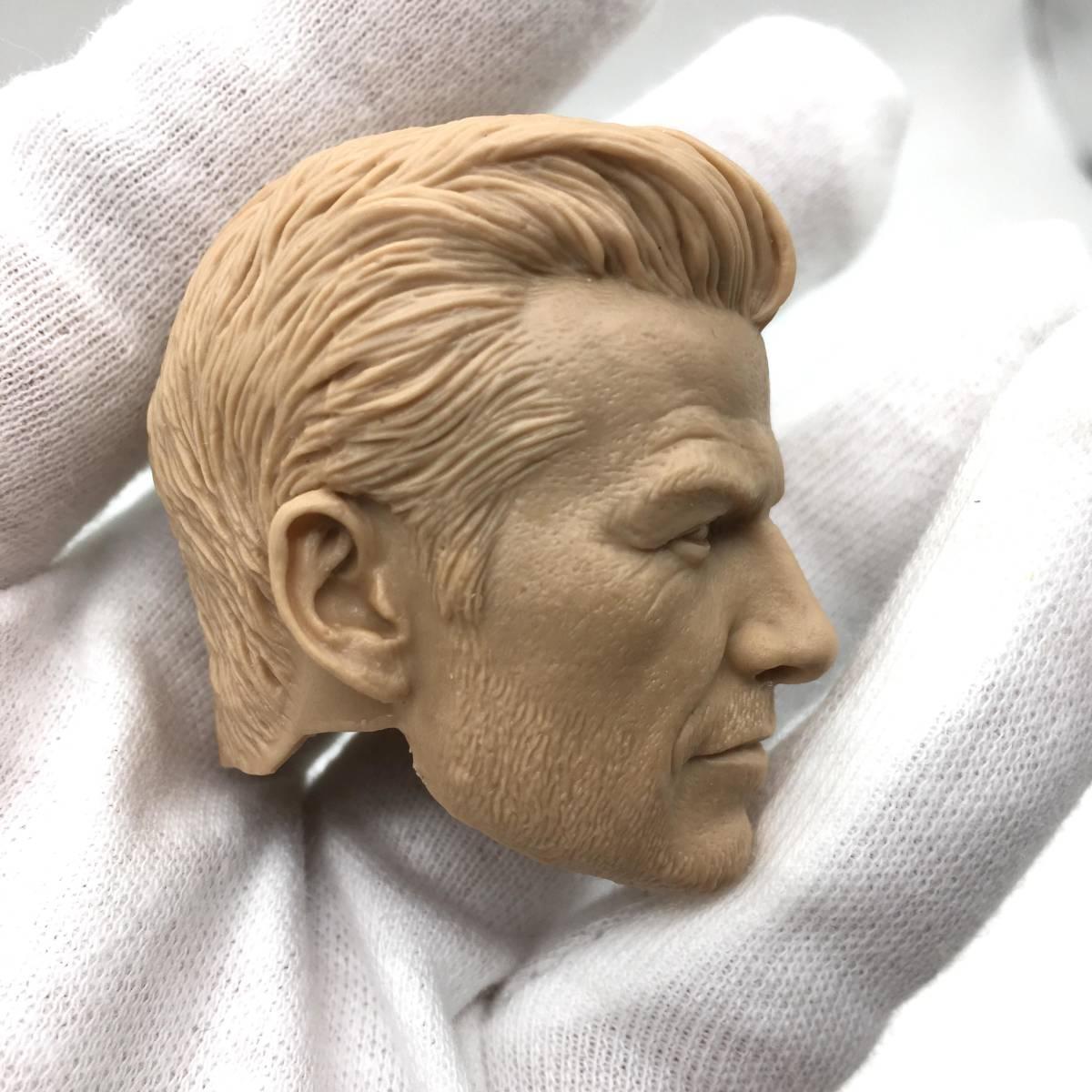 送料無料 1/6 DIY ヘッド 手作り 未塗装男性ヘッド デビッド・ベッカム 番号B32_画像2