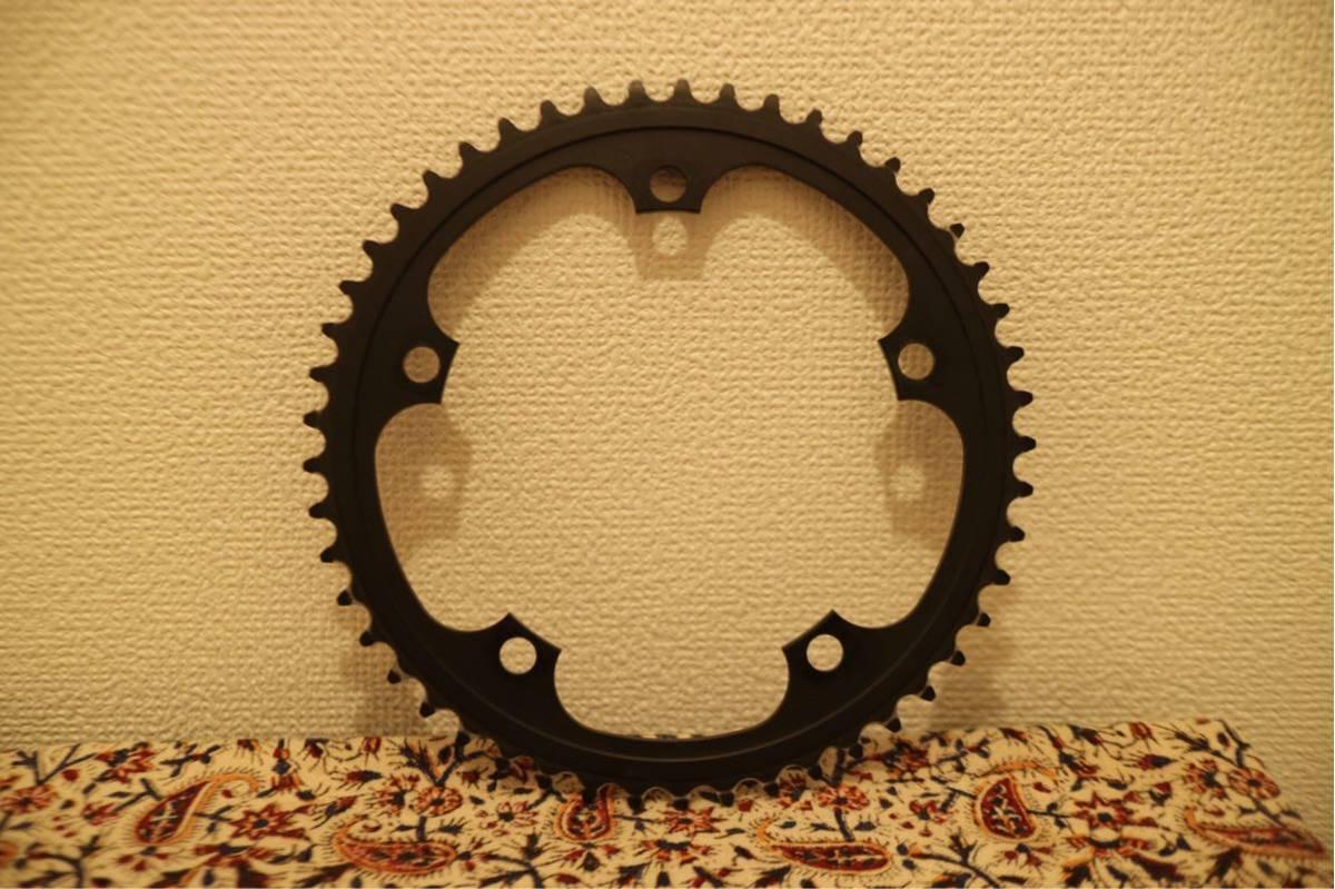 スギノ 75 チェーンリング SSG144 49T 厚歯 BLACK 黒 SUGINO 75 ピスト LEADER BIKE Cinelli MASH リーダー バイク brotures dosnoventa_画像3