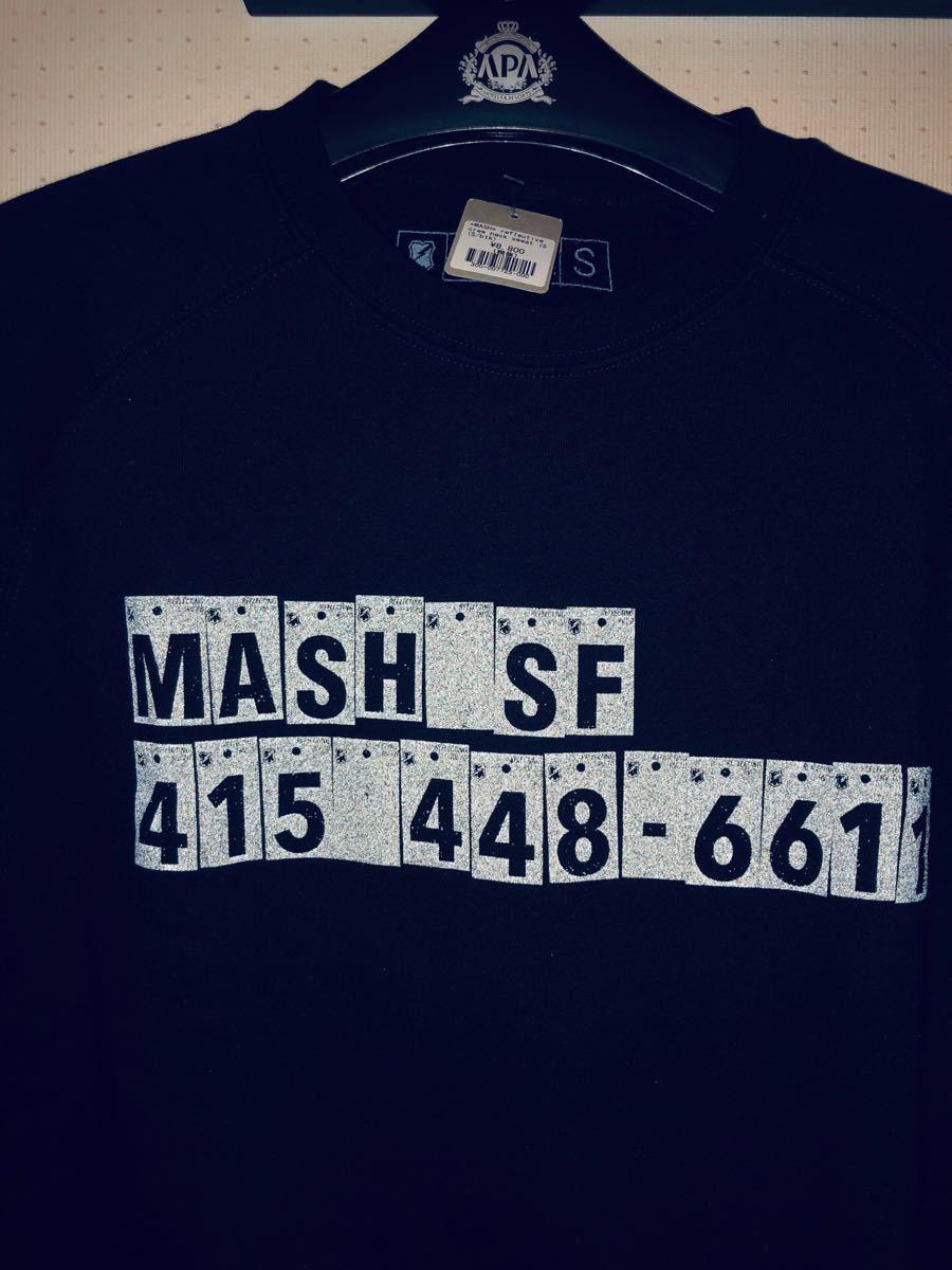 MASH reflective crew neck sweat マッシュ スウェット ピスト ロード LEADER BIKE Cinelli リーダー バイク blue lug brotures swrve_画像6