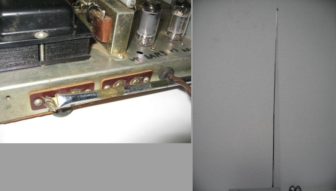 ◆STAR//スター SR-100◆2バンドラジオ◆通電確認のみ(ジャンク)◆_画像9