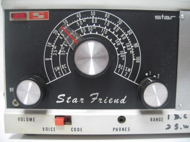 ◆STAR//スター SR-100◆2バンドラジオ◆通電確認のみ(ジャンク)◆_画像3