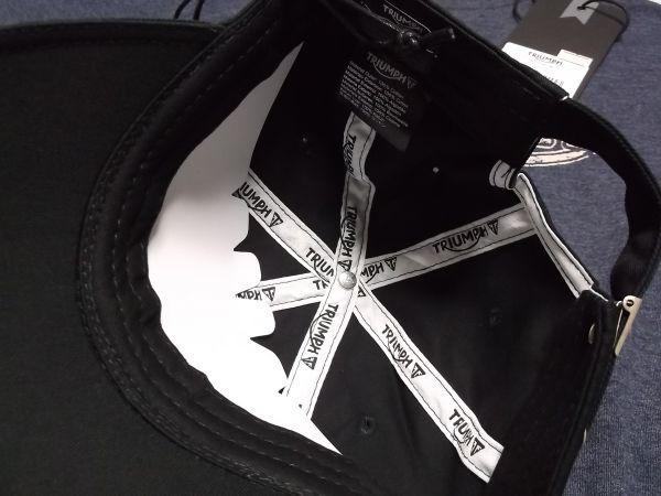 トライアンフ TRIUMPH ヴィンテージTシャツ キャップセット グッズ //ボンネビル スクランブラー デイトナ_画像8