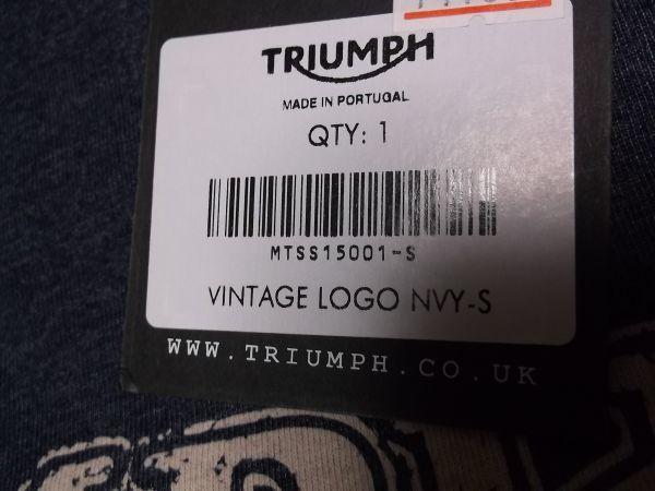 トライアンフ TRIUMPH ヴィンテージTシャツ キャップセット グッズ //ボンネビル スクランブラー デイトナ_画像4