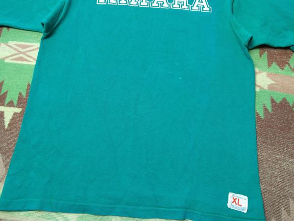 YAMAHA モーターサイクル【チャンピオン】70s フットボール Tシャツ XL★ビンテージ ヤマハ モトクロス ランタグ ハーレー 好きに40s50s60s_画像6