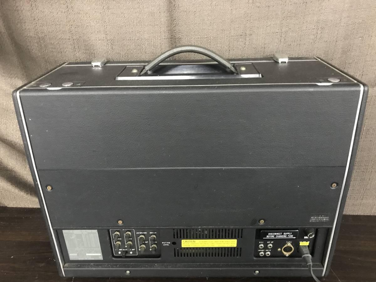 SONY 23BAND ラジオ WORLD ZONE CRF-230B 付属品あり 現状品_画像8
