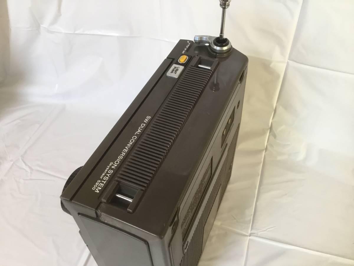 スカイセンサー ICF-5900【動作確認品・ジャンク品】_画像3