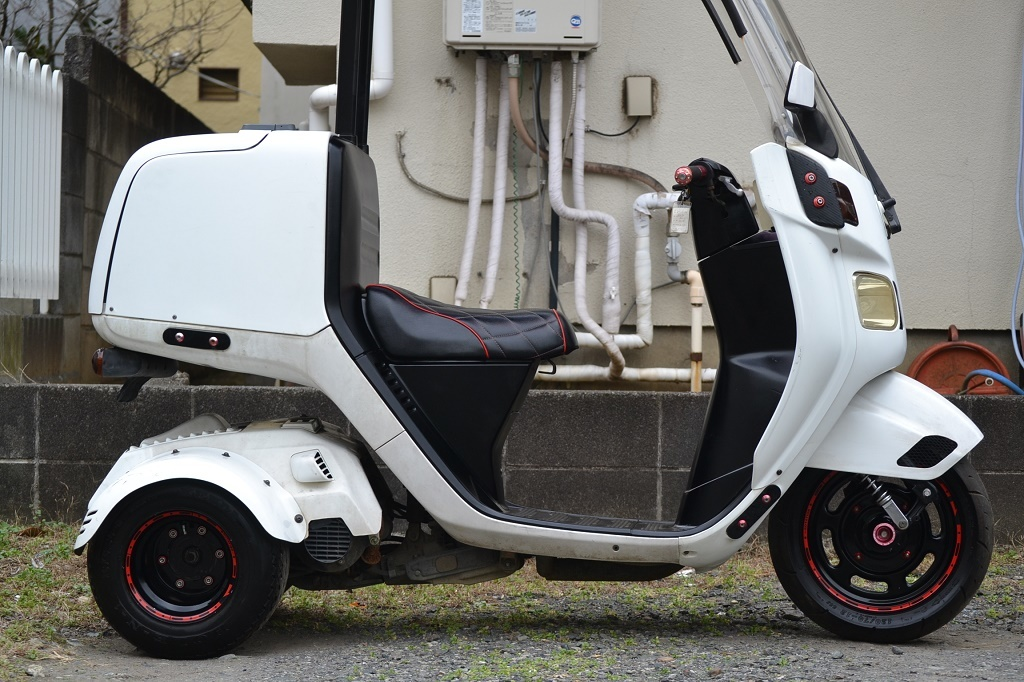 マロッシ68cc クランク新品 ホンダ ジャイロキャノピー 後期 2st エアロ ワイド ミニカー _画像10