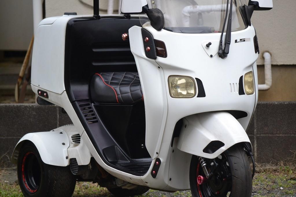 マロッシ68cc クランク新品 ホンダ ジャイロキャノピー 後期 2st エアロ ワイド ミニカー _画像7