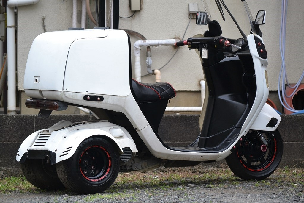 マロッシ68cc クランク新品 ホンダ ジャイロキャノピー 後期 2st エアロ ワイド ミニカー _画像3