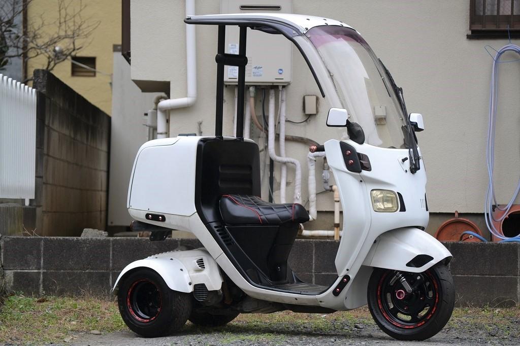 マロッシ68cc クランク新品 ホンダ ジャイロキャノピー 後期 2st エアロ ワイド ミニカー