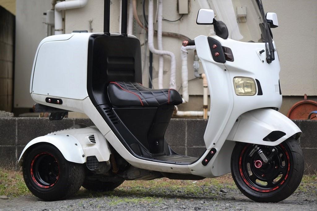 マロッシ68cc クランク新品 ホンダ ジャイロキャノピー 後期 2st エアロ ワイド ミニカー _画像5