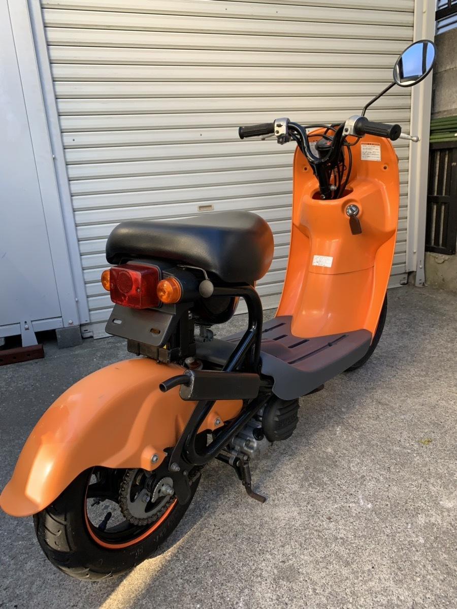 【個人出品】原付バイク SUZUKI チョイノリ/choinoriⅡ セル付き 走行距離3794㌔_画像4