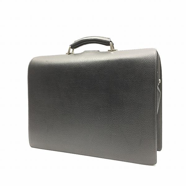 ○バーバリー 美品 レザー ダレスバッグ ビジネスバッグ A6-018_画像2