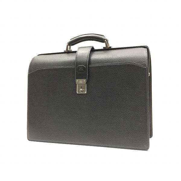 ○バーバリー 美品 レザー ダレスバッグ ビジネスバッグ A6-018