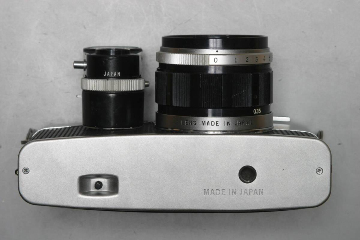 美品 OLYMPUS PEN FV 専用 露出計・レンズ5本付 完全整備済 1年間の無償修理付_画像5