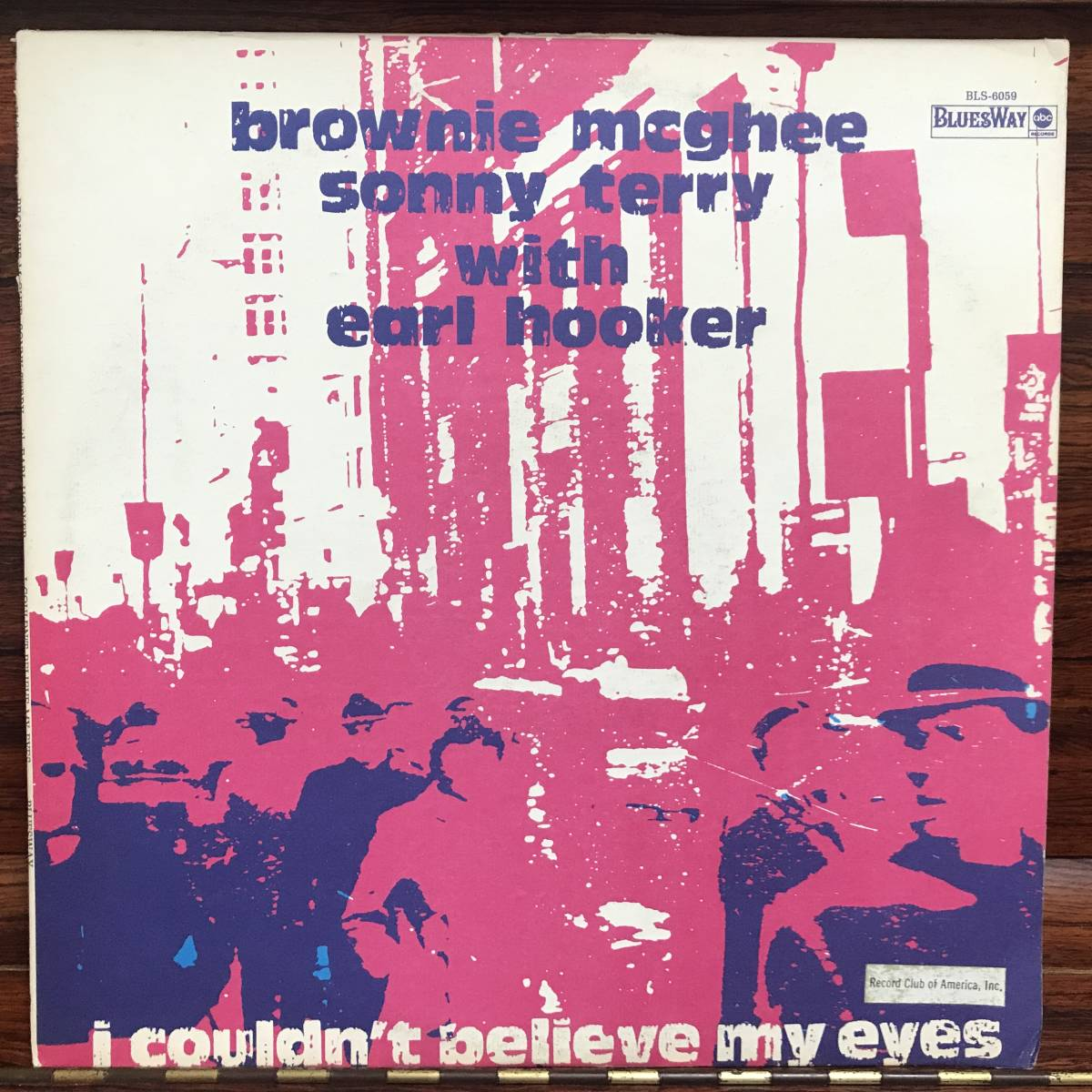 Brownie McGhee And Sonny Terry With Earl Hooker - I Couldn't Believe My Eyes/US ORIGINAL 1973 Quad_画像1