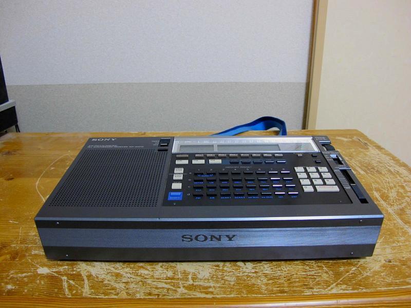 ソニーAM/FM/SWシンセサイザーチューナー、ICF-2001Dです_画像9