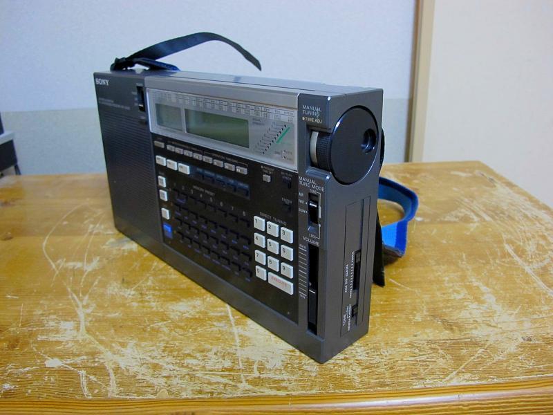 ソニーAM/FM/SWシンセサイザーチューナー、ICF-2001Dです_画像5
