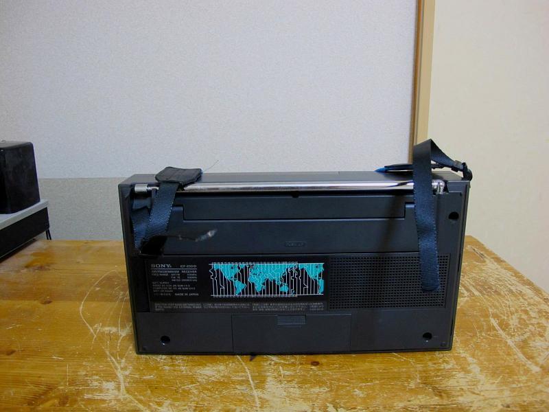 ソニーAM/FM/SWシンセサイザーチューナー、ICF-2001Dです_画像2