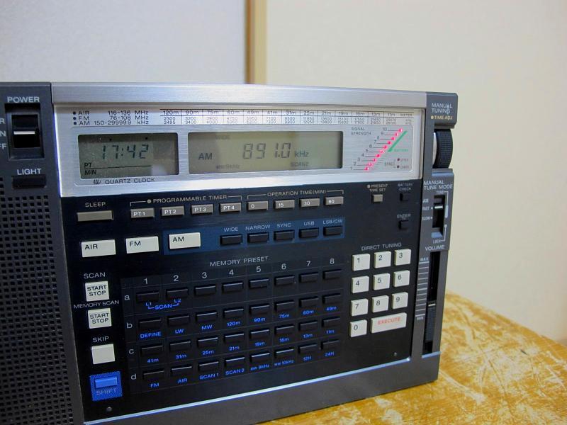 ソニーAM/FM/SWシンセサイザーチューナー、ICF-2001Dです_画像7