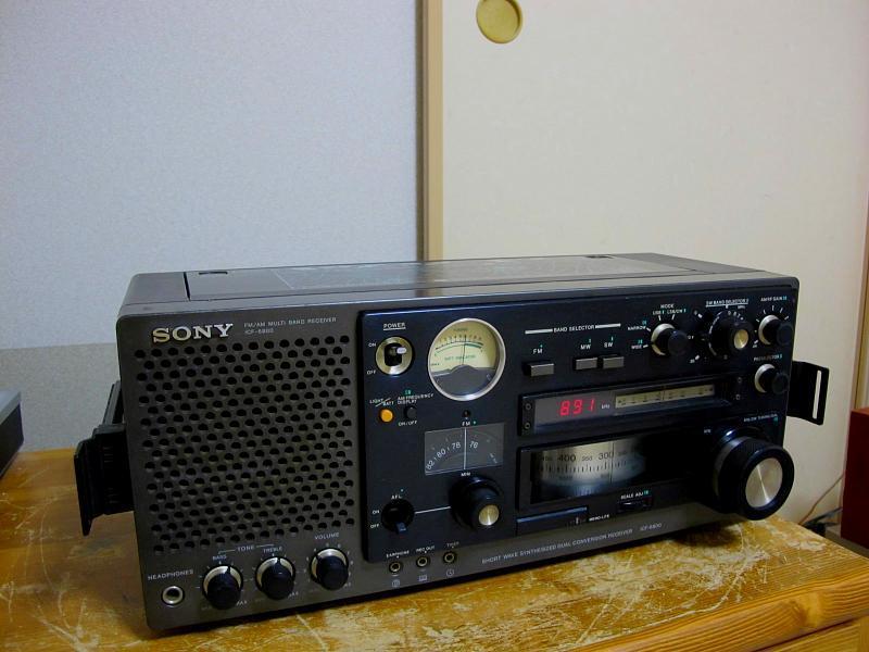 ソニー.AM/FM/SWラジオ、ICF-6800です_画像3