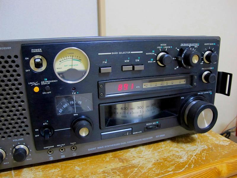 ソニー.AM/FM/SWラジオ、ICF-6800です_画像5