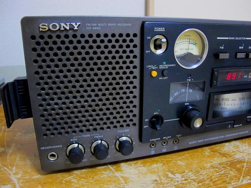 ソニー.AM/FM/SWラジオ、ICF-6800です_画像4